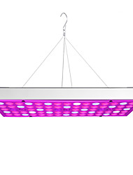 cheap -Grow Light LED Plant Growing Light Full Spectrum Panel Downlight Full Spectrum 25W 75LED AC85-265V Plants Flowers Vegetation AC 85-265V