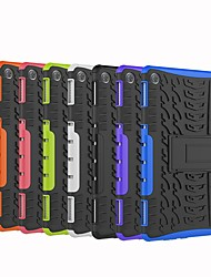 cheap -Case For Huawei Huawei Mediapad T5 10 / Huawei Mediapad M5 Lite 10 / Huawei MediaPad T3 10(AGS-W09, AGS-L09, AGS-L03) Shockproof / with Stand Back Cover Tile / Armor Hard PC