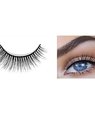 cheap -Eyelash Extensions 2 pcs Handmade Lovely 3D Soft Beauty Cute Animal wool eyelash Party Birthday Daily Wear Full Strip Lashes Natural Long The End Is Longer - Makeup Daily Makeup Casual / Daily High