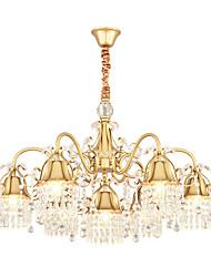 Недорогие -ZHISHU 7-Light 88 cm Творчество Люстры и лампы Металл Оригинальные Окрашенные отделки Художественный 110-120Вольт / 220-240Вольт