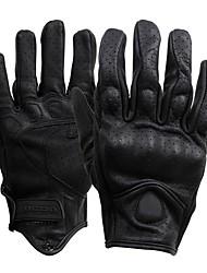 abordables -Doigt complet Homme Gants de moto Cuir Respirable / Antiusure / Protectif