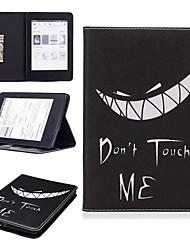 Недорогие -Кейс для Назначение Amazon Kindle PaperWhite 4 Защита от удара / со стендом / С узором Чехол Бабочка / Сова / Цветы Твердый Кожа PU