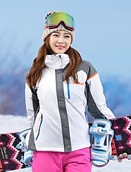 cheap -MARSNOW® Women's Ski Jacket Camping / Hiking Winter Sports Waterproof Windproof Warm 100% Cotton Chenille Windbreaker Warm Top Top Ski Wear