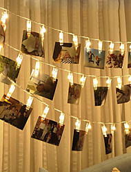 cheap -BRELONG LED Photo Clip Light 1.5M 10LED Warm White Light Always Bright With Flash