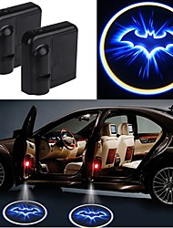 cheap -2pcs Wireless Car Door Led Laser Projector Shadow Light  Car-styling Car Interior Lamp Light