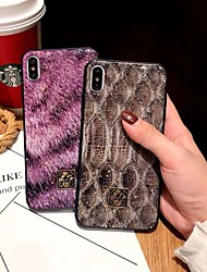 cheap -Case For Apple iPhone XS / iPhone XR / iPhone XS Max Shockproof / with Keyboard Back Cover Animal Soft TPU