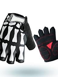 cheap -Half-finger Men's Motorcycle Gloves Cloth / Microfiber / Spandex Lycra Breathable / Wearproof / Non Slip