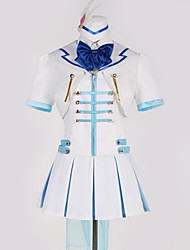 cheap -Inspired by Love Live Cosplay Anime Cosplay Costumes Japanese Cosplay Suits Art Deco Bowknot Blouse Top Skirt For Men's Women's / Gloves / More Accessories / Cap / Gloves / More Accessories