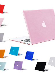 """cheap -MacBook Case Solid Colored PVC(PolyVinyl Chloride) for Macbook Pro 13-inch / New MacBook Pro 13-inch / New MacBook Air 13"""" 2018"""