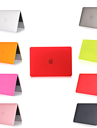 """cheap -MacBook Case Solid Colored PVC(PolyVinyl Chloride) for MacBook 12'' / New MacBook Pro 15-inch / New MacBook Air 13"""" 2018"""