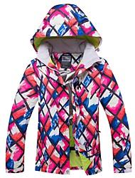 cheap -RIVIYELE Women's Ski Jacket Winter Sports Windproof Warm Breathability Cotton POLY Top Ski Wear