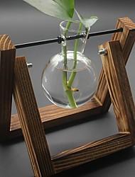 cheap -Vases & Basket Irregular Wood Artistic Classic / Single Vase