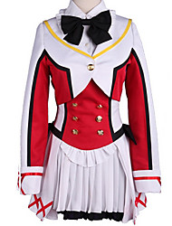 cheap -Inspired by Love Live Cosplay Anime Cosplay Costumes Japanese Cosplay Suits Color Block Bowknot Skirt Bow More Accessories For Men's Women's / Wig / Wig