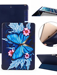 cheap -Case For Apple iPad Air / iPad 4/3/2 / iPad Mini 3/2/1 Shockproof / Flip / Ultra-thin Full Body Cases Butterfly Soft Silicone / iPad Pro 10.5 / iPad (2017)