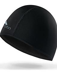 cheap -Miloto Cycling Beanie / Hat Helmet Liner Skull Cap Beanie Solid Color Windproof UV Resistant Fleece Lining Rain Waterproof Warm Bike / Cycling Black Spandex Fleece Winter for Men's Women's Adults'