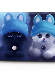 "cheap -MacBook Case Animal / Cartoon PVC(PolyVinyl Chloride) for Macbook Air 11-inch / New MacBook Pro 13-inch / New MacBook Air 13"" 2018"