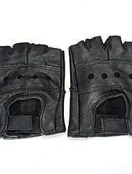 cheap -Half-finger Men's Motorcycle Gloves Cowhide Breathable / Wearproof / Protective