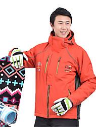cheap -MARSNOW® Men's Ski Jacket Skiing Snowboarding Waterproof Warm Wearable 100% Cotton Chenille Windbreaker Warm Top Top Ski Wear / Winter