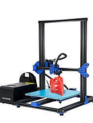 "cheap -Longer LK1 DIY 3D Printer Build Plate 300*300*400mm with 2.8""Full Color Touchscreen/Filament Detector/Power Failure Recovery"