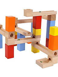 cheap -Building Blocks Marble Run Race Construction Marble Run 30 pcs Creative compatible Legoing Simulation Hand-made All Boys' Girls' Toy Gift
