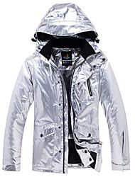 cheap -ARCTIC QUEEN Men's Women's Ski Jacket Skiing Camping / Hiking Snowboarding Waterproof Windproof Warm Eco-friendly Polyester Jacket Windbreaker Top Ski Wear / Winter
