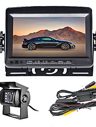 cheap -7 inch Car monitor Wireless Rear View Kit Waterproof Camera for Truck Bus Parking Rear view System