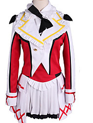 cheap -Inspired by Love Live Cosplay Anime Cosplay Costumes Japanese Cosplay Suits Color Block Coat Skirt More Accessories For Men's Women's / Wig / Wig