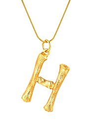 cheap -Women's Pendant Necklace Name Alphabet Shape Trendy Fashion Alloy Gold Silver 55 cm Necklace Jewelry 1pc For Gift Daily