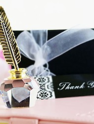 cheap -Glasses Flower Style / Love Coaster Favors - 1 pcs Piece/Set School / Graduation / Friends All Seasons