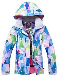 cheap -RIVIYELE Men's Women's Ski Jacket Winter Sports Windproof Warm Breathability Cotton POLY Top Ski Wear