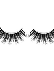 cheap -Eyelash Extensions 2 pcs Handmade Lovely 3D Lightweight Soft Beauty Animal wool eyelash Party Birthday Daily Wear Full Strip Lashes Natural Long - Makeup Daily Makeup High Quality Modern Cosmetic