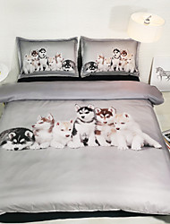 cheap -Duvet Cover Sets Cartoon Polyster Printed 3 PieceBedding Sets