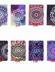 cheap -Case For Apple iPad Air / iPad 4/3/2 / iPad (2018) Card Holder / Flip / Pattern Full Body Cases Mandala / Flower Hard PU Leather / iPad Pro 10.5 / iPad (2017)