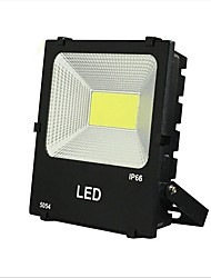 cheap -1pc 50W COB Led Floodlight Warm Clod White Color Waterproof Outdoor Lighting for Courtyard Garden AC185-265V