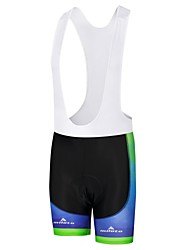 cheap -Miloto Men's Cycling Bib Shorts Bike Bib Shorts Padded Shorts / Chamois Pants Sports Polyester White / Black / Bule / Black Clothing Apparel Bike Wear / Stretchy