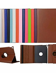 cheap -Case For Apple iPad Air / iPad 4/3/2 / iPad Mini 3/2/1 360° Rotation / Shockproof / with Stand Full Body Cases Solid Colored Soft PU Leather / iPad Pro 10.5 / iPad (2017)
