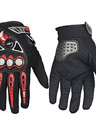 cheap -Full Finger Men's Motorcycle Gloves Microfiber / Net Fabric Breathable / Wearproof / Non Slip