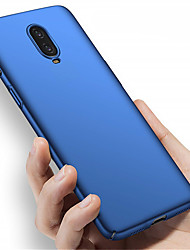 cheap -Case For OnePlus OnePlus 6 / One Plus 6T / One Plus 5 Frosted Back Cover Solid Colored Hard PC