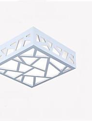 abordables -finitions géométriques encastrées peintes à la lumière ambiante bois / bois de bambou / led de bambou led 90-240v blanc chaud / blanc chaud source de lumière incluse / led intégré