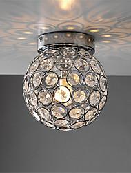 cheap -1-Light OYLYW 18 cm Crystal / Mini Style Flush Mount Lights Metal Crystal Electroplated LED / Modern 110-120V / 220-240V / G9