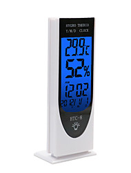 cheap -WINYS HTC-8 Alarm Clock  Electronic Thermometer Desktop style, LCD backlight display