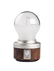 Недорогие -Походные светильники и лампы 230 lm Светодиодная лампа XP-G2 1 излучатели Автоматический 5 Режим освещения с USB кабелем Портативные Новый дизайн Походы / туризм / спелеология Кофейный