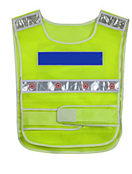 cheap -Safety Reflective Clothing 16LED for Workplace Safety Supplies Emergency