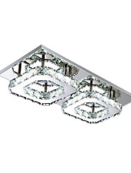 cheap -22 cm (9 inch) Bulb Included / LED Flush Mount Lights Metal Electroplated Modern Contemporary 110-120V / 220-240V