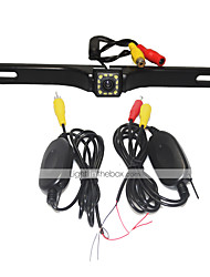 Недорогие -система помощи при парковке беспроводная автомобильная камера заднего вида авто 12led ccd 1080p hd