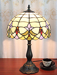 cheap -12 Inch Desk Light Artistic Tiffany Ambient Lamps Decorative Lovely Table Lamp For Indoor Bedroom Resin 110-120V 220-240V 40W*1 Bulb Not Included