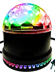 cheap -Disco Lights Party Light LED Stage Light / Spot Light Sound-Activated Stage / Wedding / Festival / Holiday Cool / Lightweight for Dance Party Wedding DJ Disco Show Lighting