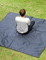 cheap -Jungle King Picnic Pad Outdoor Lightweight Anti-Wear Moistureproof Oxford Cloth 200*200 cm Camping Picnic All Seasons Black