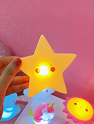 cheap -LED Lighting Star Adorable PVC (Polyvinylchlorid) Child's Teenager All Toy Gift