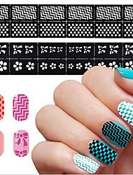 cheap -1 pcs Hollow Nail Stickers Creative nail art Manicure Pedicure Multi Function Fashion Daily